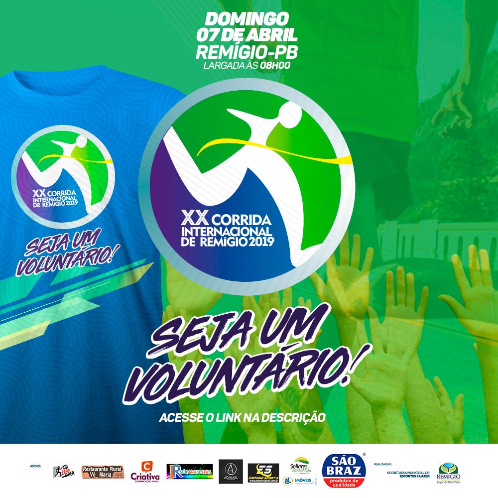 Faça parte do nosso time de voluntários