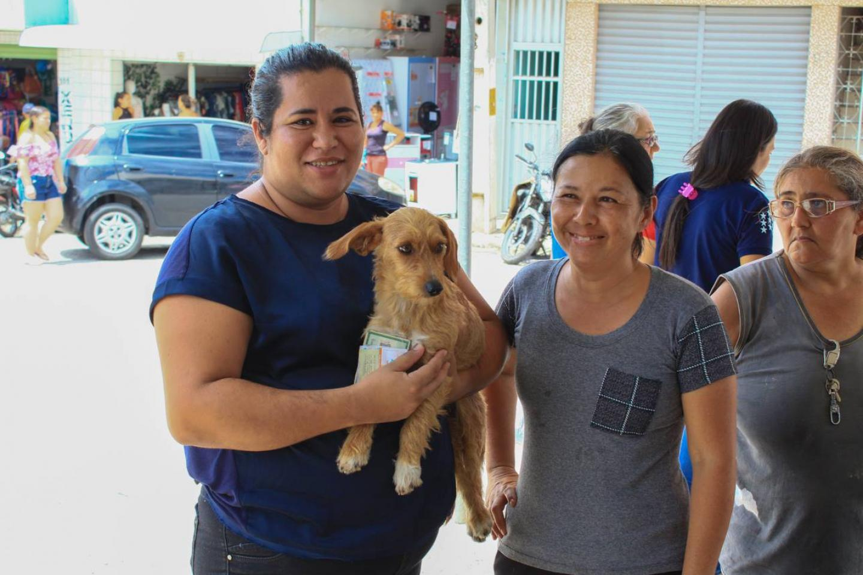 APAR realiza feira de adoção de cães e gatos em Remígio.