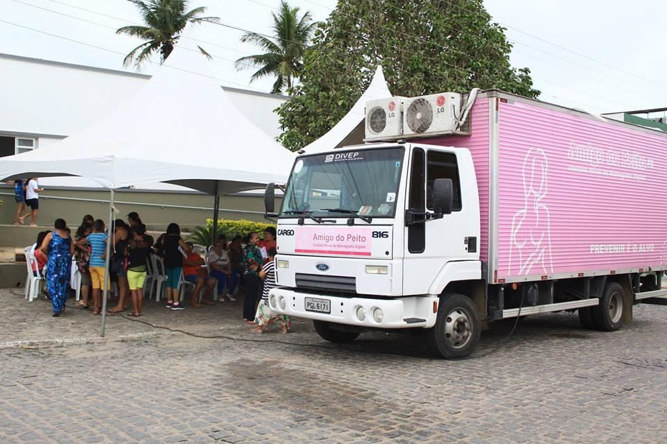 Sec. de Saúde realiza mutirão de mamografia