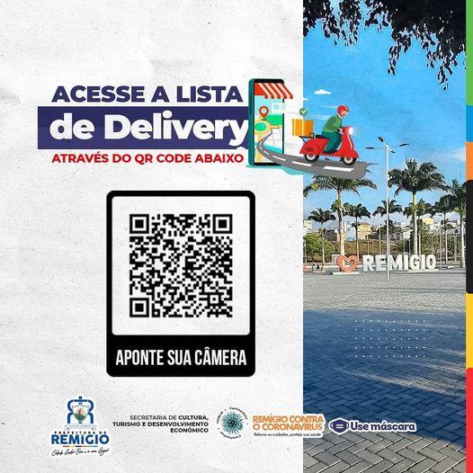 📝LISTA DE DELIVERY - REMÍGIO-PB - ATUALIZADA EM 12/05/2021