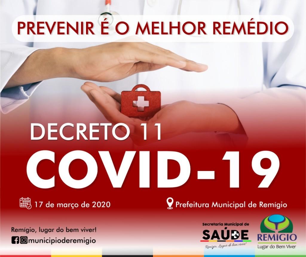 Prefeitura Publica Decreto de Estado de Emergência