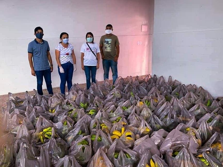 Remígio recebe do Estado 2 toneladas de alimentos