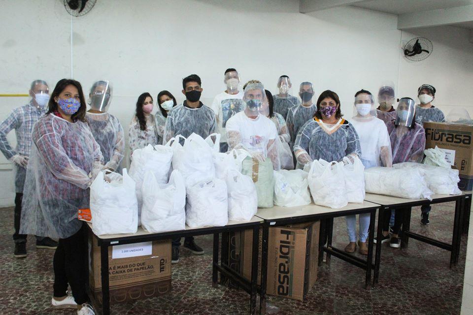 Doação de Máscara do Governo da Paraíba