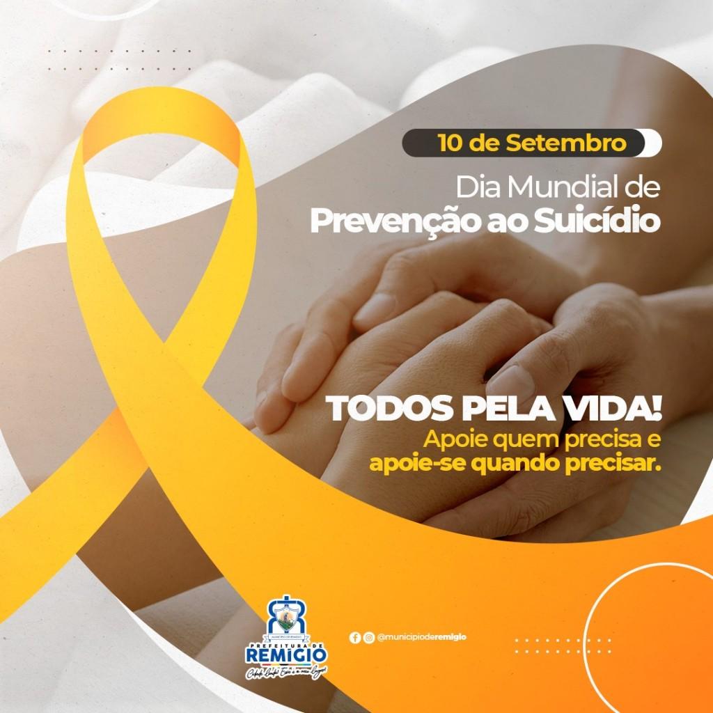 #TodosPelaVida 🎗️ previna o suicídio!